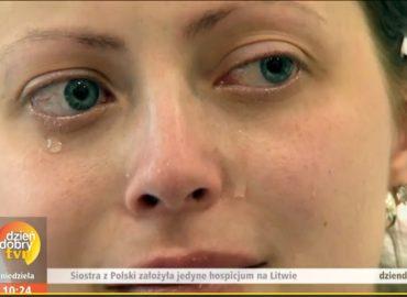 Lot balonem, łzy dziennikarzy, czyli… siostra Michaela w Dzień Dobry TVN