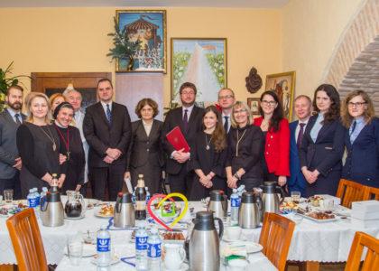 Polscy dyplomaci odwiedzili hospicjum w Wilnie