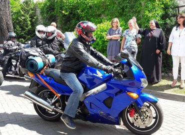 Ostrobramska Pielgrzymka Motocyklowa zajechała z hukiem