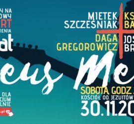 Jubileuszowy koncert Deus Meus dla hospicjum