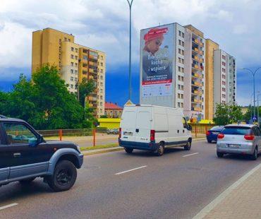 Reklamy na urodziny Michaeli Rak - Białystok 1