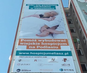 Reklamy na urodziny Michaeli Rak - Białystok 2