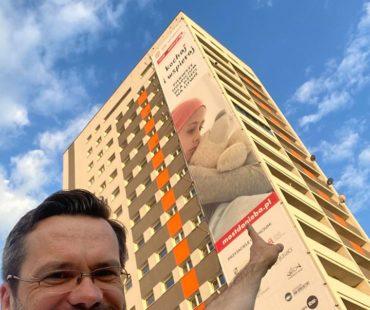 Reklamy na urodziny Michaeli Rak - Warszawa 1